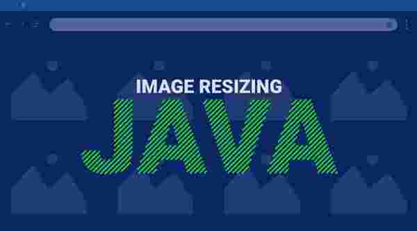 Image resizing in Java