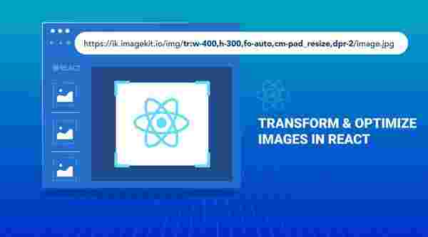Serverless image transformation, optimization, and file upload in React application