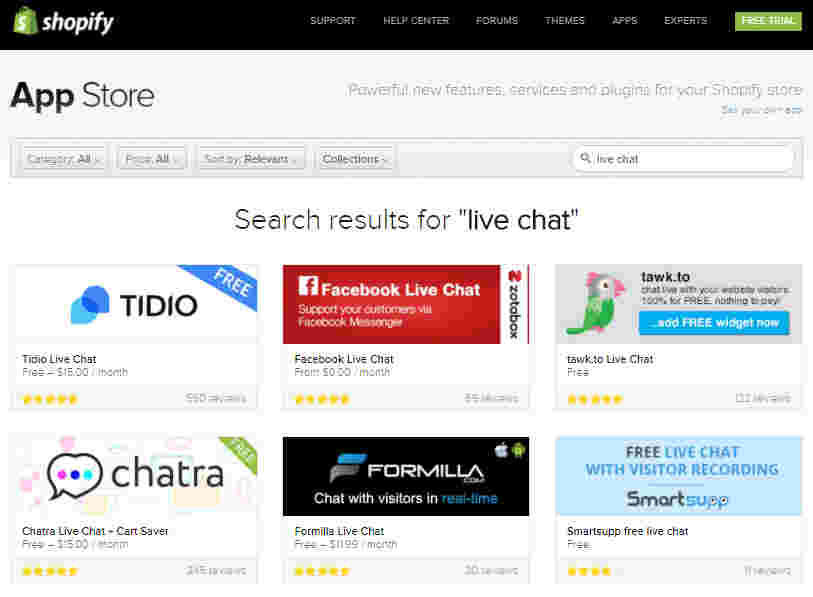 Live Chat - increase conversions of Shopify Store