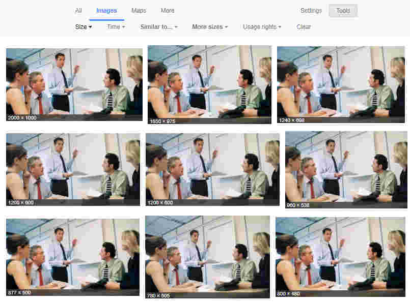 Stock Images - Image Optimization for SEO