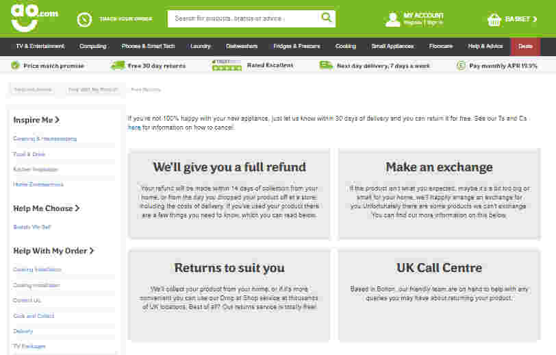 Return Policy - increase conversions of Shopify Store